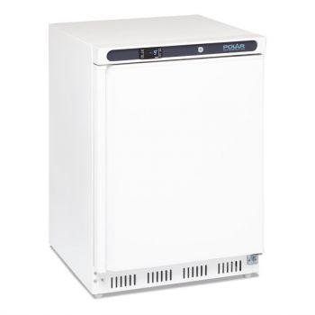 Dessous de comptoir négatif blanc Polar Série C 140L