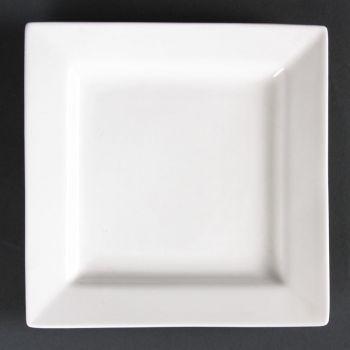 Assiettes carrées Lumina 170mm