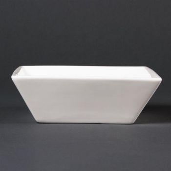 Bols carrés 140mm Lumina Fine China