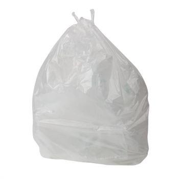 Sacs poubelle transparents Jantex 5kg