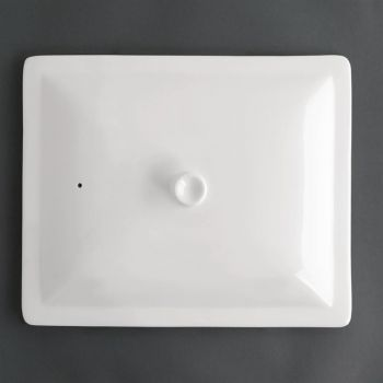 Couvercle blanc GN 1/2 Olympia Whiteware