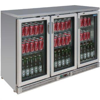 Arrière-bar portes à charnières 273 bouteilles Polar Série G