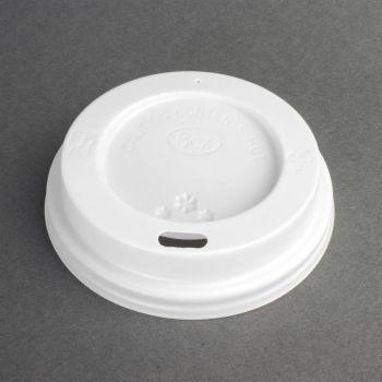 Couvercles recyclables pour gobelets de boissons chaudes Fiesta 225ml x50