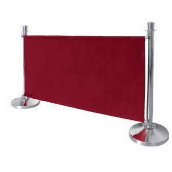 Barrière en toile Bolero rouge