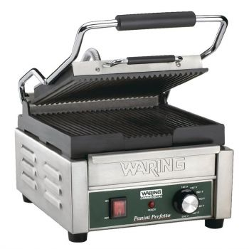 Waring paninigrill - groef/groef