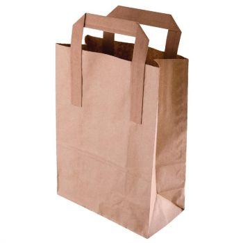 Sacs en papier recyclable marron 305 x 254mm