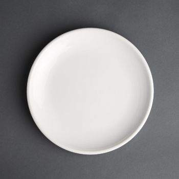 Assiette plate blanche Olympia Café 205mm