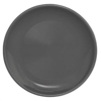 Assiette plate grise Olympia Café 205mm