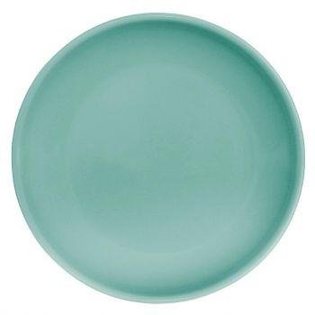 Assiette plate vert d'eau Olympia Café 205mm