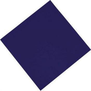 Serviettes de table en papier bleues Fasana 330mm