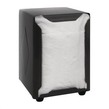Distributeur de serviettes inox Olympia noir