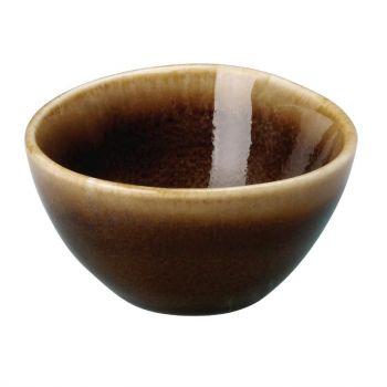 Pot à sauce couleur écorce Kiln Olympia 68mm