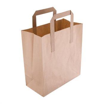 Petits sacs en papier recyclé marron Fiesta Green
