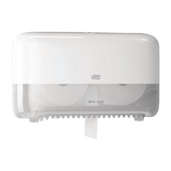 Distributeur double pour papier toilette sans mandrin Tork