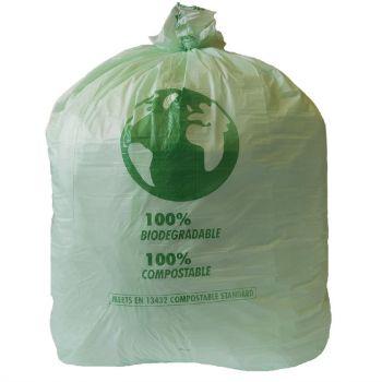 Grands sacs poubelle compostables Jantex 90L