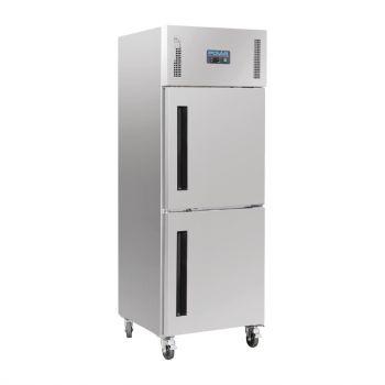 Armoire réfrigérée positive 2 portillons GN 2/1 Polar Série G