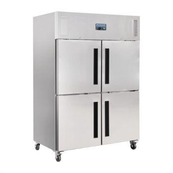 Armoire réfrigérée positive double 2 portillons GN 2/1 Polar Série G