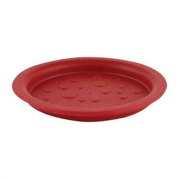 Couvercle pour pichet ou sous-verre Roltex AQUA rouge