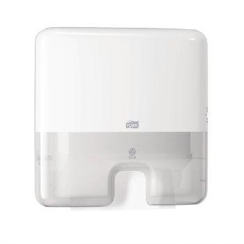 Distributeur mini pour essuie-mains interfoliés Tork blanc