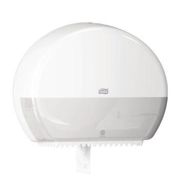 Distributeur de papier toilette Mini Jumbo Tork blanc