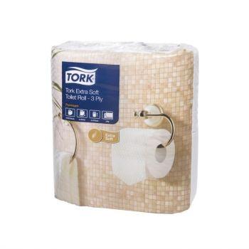 Papier toilette rouleau traditionnel extra doux Tork 3 plis