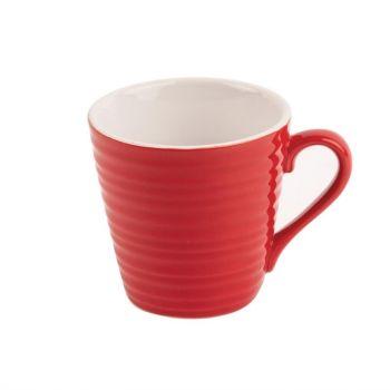 Tasses à café Aroma Olympia rouges 34 cl (x6)