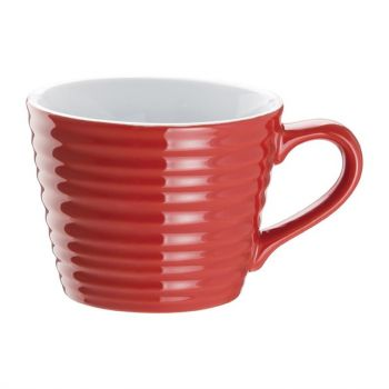 Tasses à café Aroma Olympia rouge 23 cl (x6)