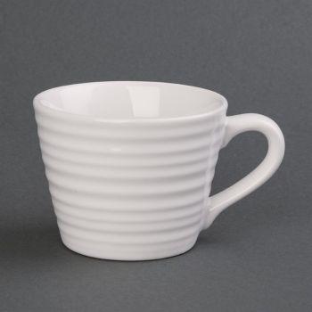 Tasses à café Aroma Olympia blancs 23 cl (x6)