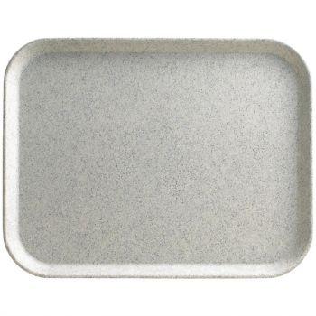 Plateau en polyester Versalite Cambro gris moucheté 457mm