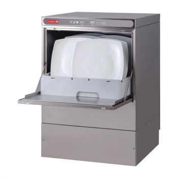 Lave-vaisselle Maestro Gastro M 50x50 400V avec pompe de vidange doseur détergent et break tank