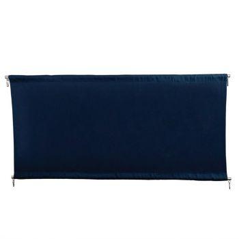 Barrière en toile Bolero bleu foncé