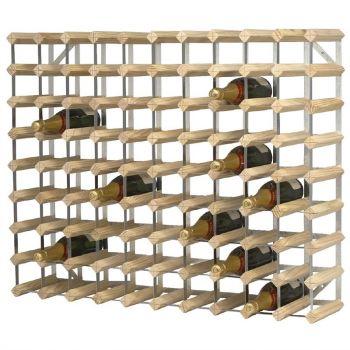 Casier à bouteilles en bois 90 bouteilles