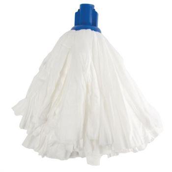 Grand mop traditionnel blanc Jantex bleu