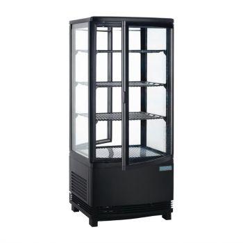 Vitrine réfrigérée avec portes incurvées Polar Série C 86L