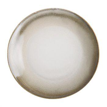 Assiettes plates sable Birch Olympia 20;5 cm (x6)