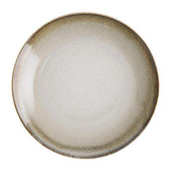 Assiettes plates sable Birch Olympia 27 cm (x6)