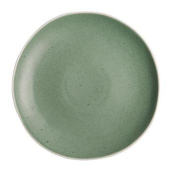 Assiettes plates vertes Chia Olympia 27 cm (x6)