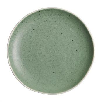 Assiettes plates verte Chia Olympia 20;5 cm (x6)