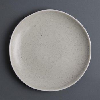 Assiettes plates sable Chia Olympia 27 cm (x6)