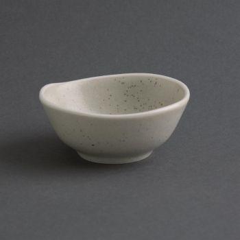 Bols à sauce sable Chia Olympia 8 cm (x12)