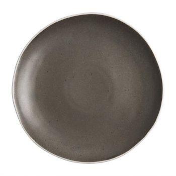 Assiettes plates grises Chia Olympia 27 cm (x6)