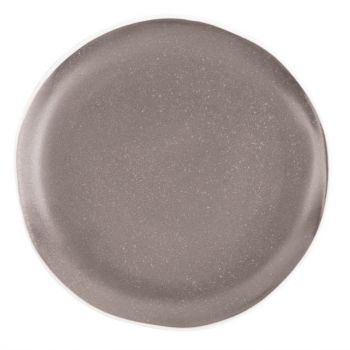Assiettes plates grises Chia Olympia 20;5 cm (x6)