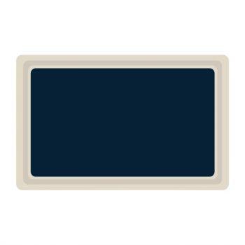 Plateau de service en polyester Roltex GN1/1 530x325mm bleu