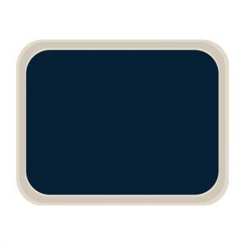 Plateau de service en polyester Roltex Standard 470x360mm bleu