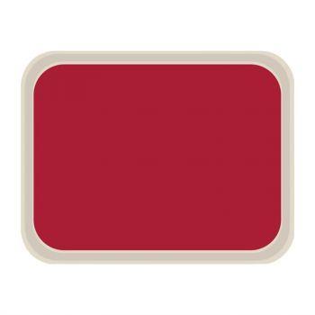 Plateau de service en polyester Roltex Standard 470x360mm rouge
