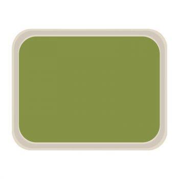 Plateau de service en polyester Roltex Standard 470x360mm vert