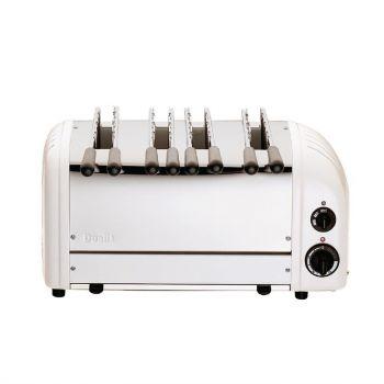 Toaster à sandwich 4 fentes blanc Dualit 41034