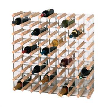 Casier à bouteilles en bois 72 bouteilles