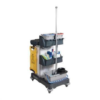 Chariot de ménage Numatic XC1 - Collecteur 120L + seau de lavage 18L
