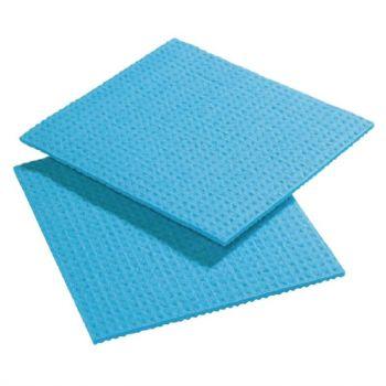 Chiffons de nettoyage Spongyl bleus